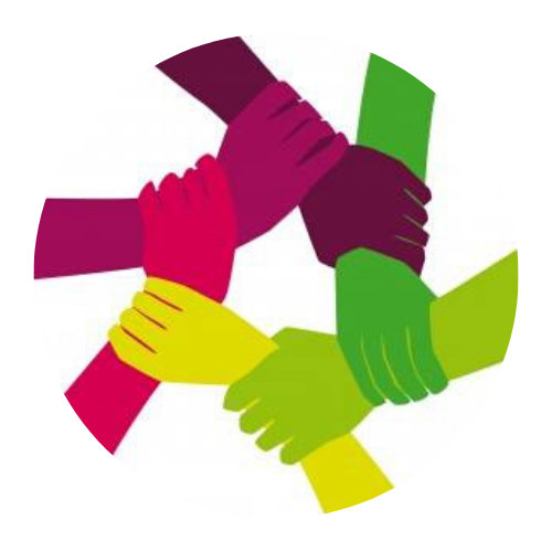 logo rond reseau solidarite migrant rouen